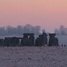 Moods of Stonehenge 2 - Predawn by Sharon Perrett