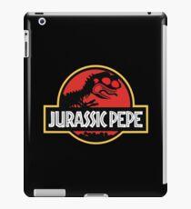 Jurassic Pepe - Pepe the frog iPad Case/Skin