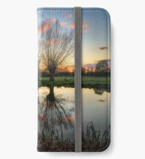 Autumn on the River Stour iPhone Wallet/Case/Skin