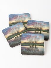 Autumn on the River Stour Coasters