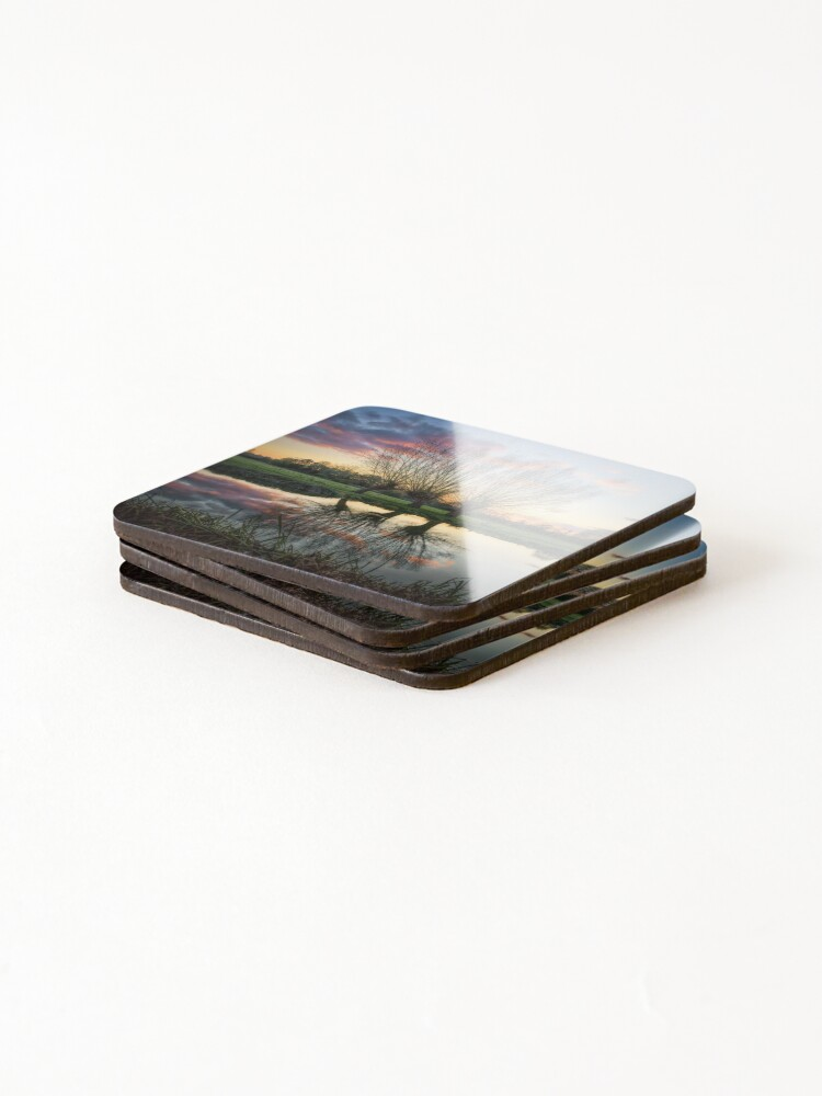 Alternate view of Autumn on the River Stour Coasters (Set of 4)