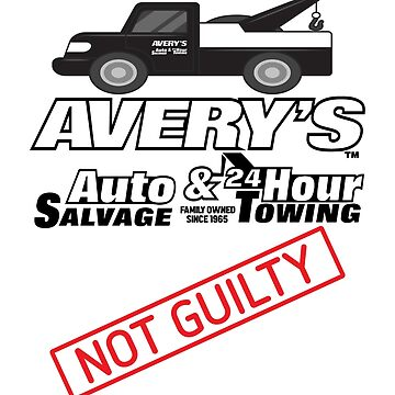 Avery's Auto Salvage - Not Guilty by jamescrowe1987