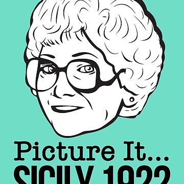 Sophia Petrillo: Picture It 1922! (the Golden Girls) by catalystdesign