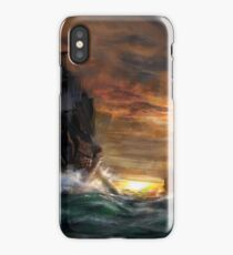 Ships drawn iPhone Case