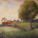 the old Mill by Birgit Schnapp