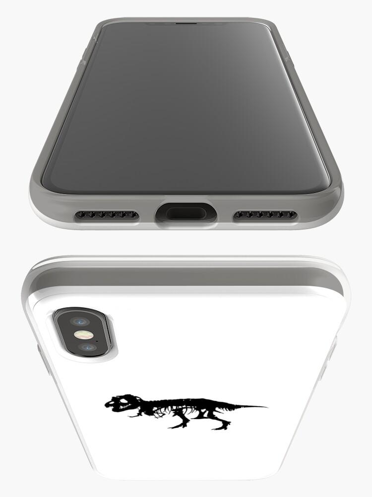 Vista alternativa de Funda y vinilo para iPhone T-Rex