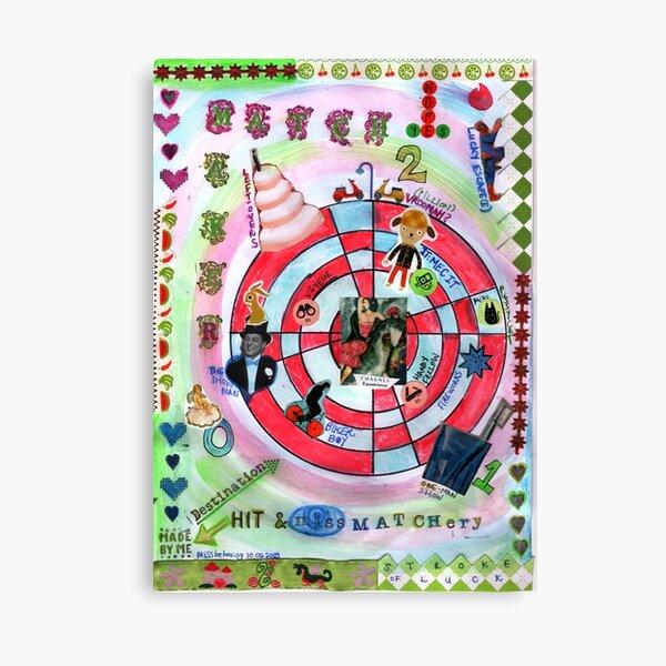 Matchmaker hit & missmatchery Canvas Print