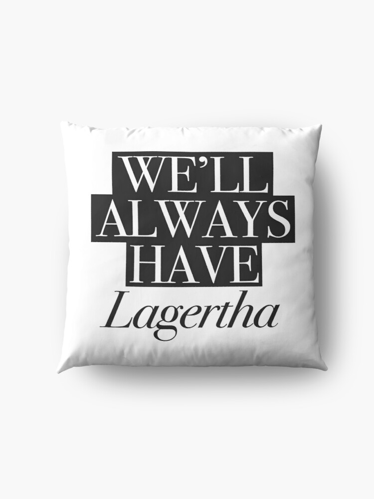 Alternate view of We will always have Lagertha Floor Pillow