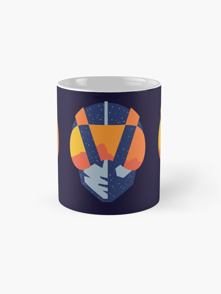 Alternate view of Art Las Vegas aviators logo Mug