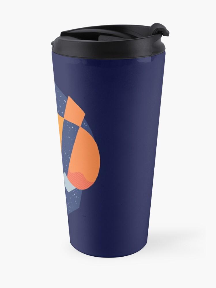 Alternate view of Art Las Vegas aviators logo Travel Mug