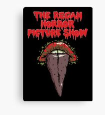 The Regan Horror Picture Show Canvas Print
