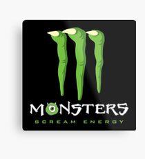 Scream Energy Metal Print