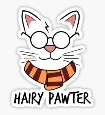 Hairy Pawter Sticker