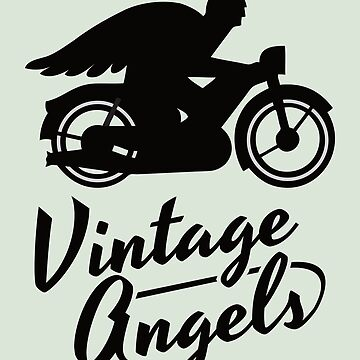 Vintage Angels - Motorcycle club logo by knappidesign