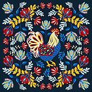 French Rooster by Janine Lecour