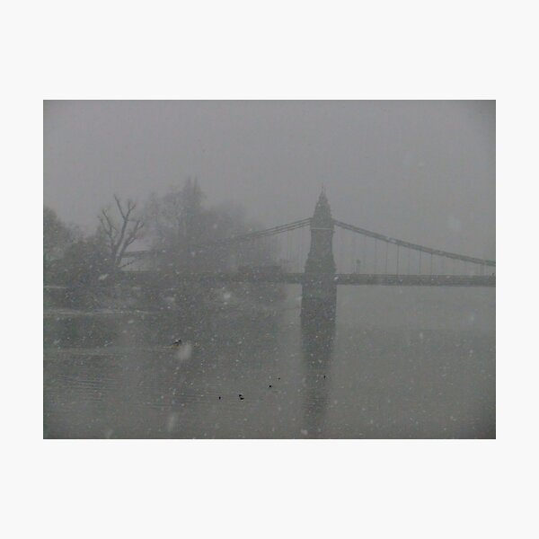 Hammersmith Bridge (yes, it is!) Photographic Print