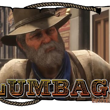 Uncle has terminal Lumbago Red Dead Redemption 2 II RDR2  by dubukat