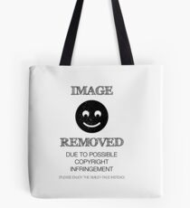 Image Removed Tote Bag