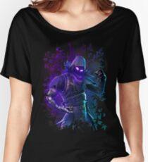 EPIC Fortnite Battle Royale Raven T Shirt Women's Relaxed Fit T-Shirt