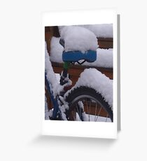 Out Of Service- snowed in Greeting Card