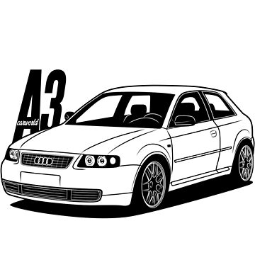 A3 8L Best Shirt Design by CarWorld