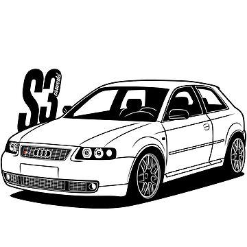 S3 8L Best Shirt Design by CarWorld