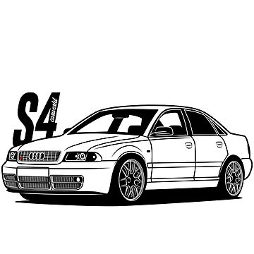S4 B5 Best Shirt Design by CarWorld