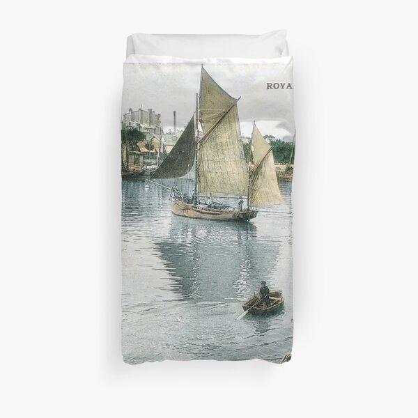 Port de Royan, années 1900 (3) Housse de couette