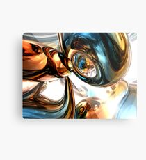 Wine and Spirits Abstract Metal Print