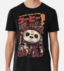 Camiseta premium para hombre Cafe magico negro