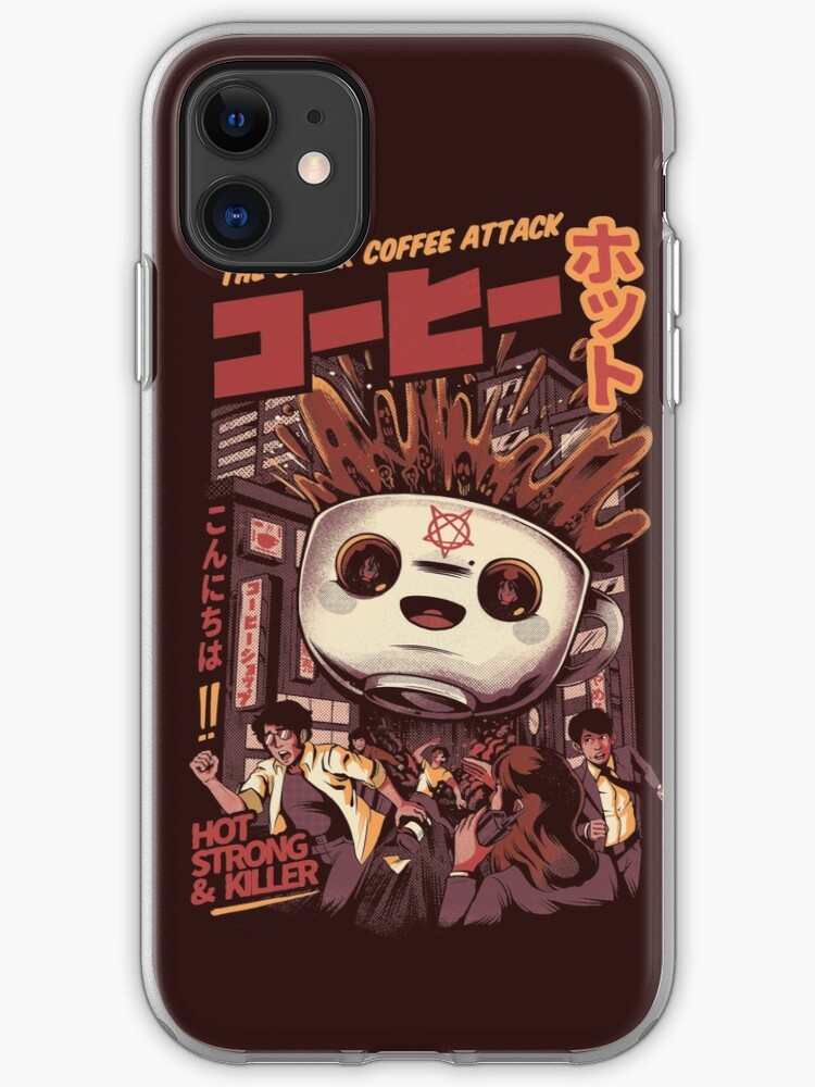 Kaiju Food Fight iPhone 11 case
