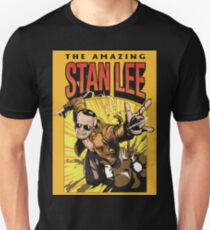 The Amazing Stan Lee Slim Fit T-Shirt