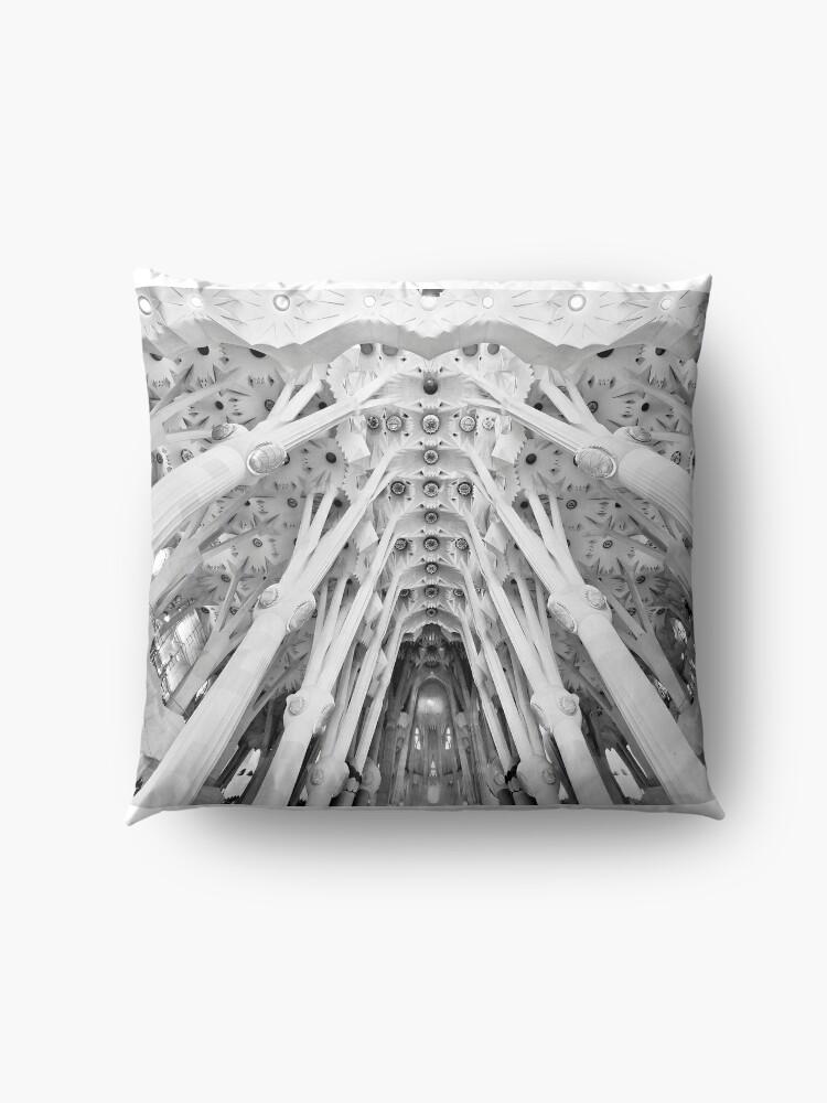 Alternate view of Sagrada Familia, Barcelona Floor Pillow