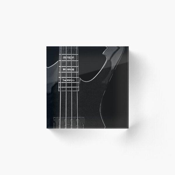 Ibanez 'Iceman Bass' Guitar Acrylic Block