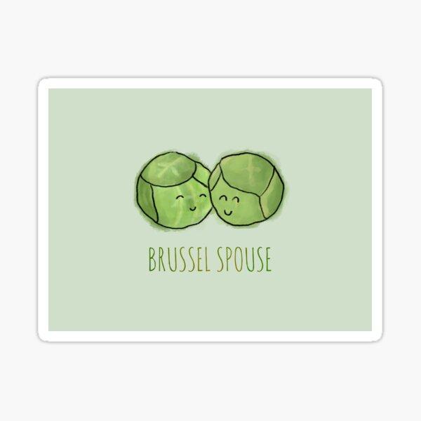 Brussel Spouse Sticker