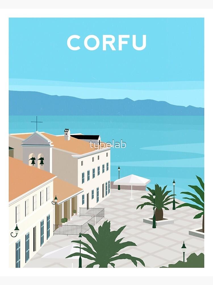 Corfu - Greece by typelab