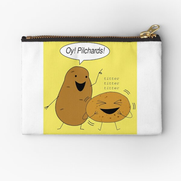Naughty Spuds Zipper Pouch