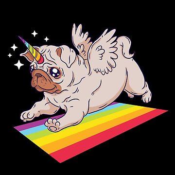 Pug Unicorn by soondoock