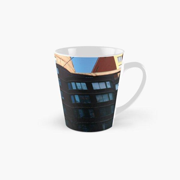 New York City, Manhattan, New York, downtown, #NeeYorkCity, #Manhattan, #NeeYork, #downtown, #buildings, #streets, #avenues, #skyscrapers, #cars, #pedestrians Tall Mug