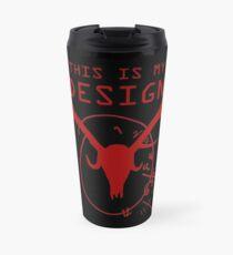 This Is My Design Travel Mug