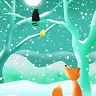 The Fox and the Crow by Hannah Chapman