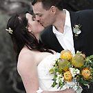 Newly wed kiss by Kieron Nolan
