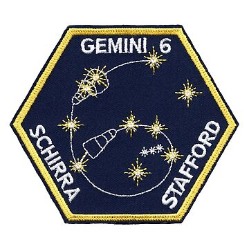 Gemini 6 NASA Astronaut Mission Patch by jutulen