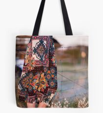 Dress and Grass Tote Bag