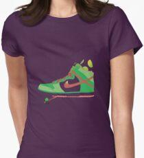 Bal-ang! Yoshi got dunks. Womens Fitted T-Shirt