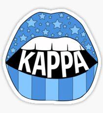 Kappa Lips Sticker