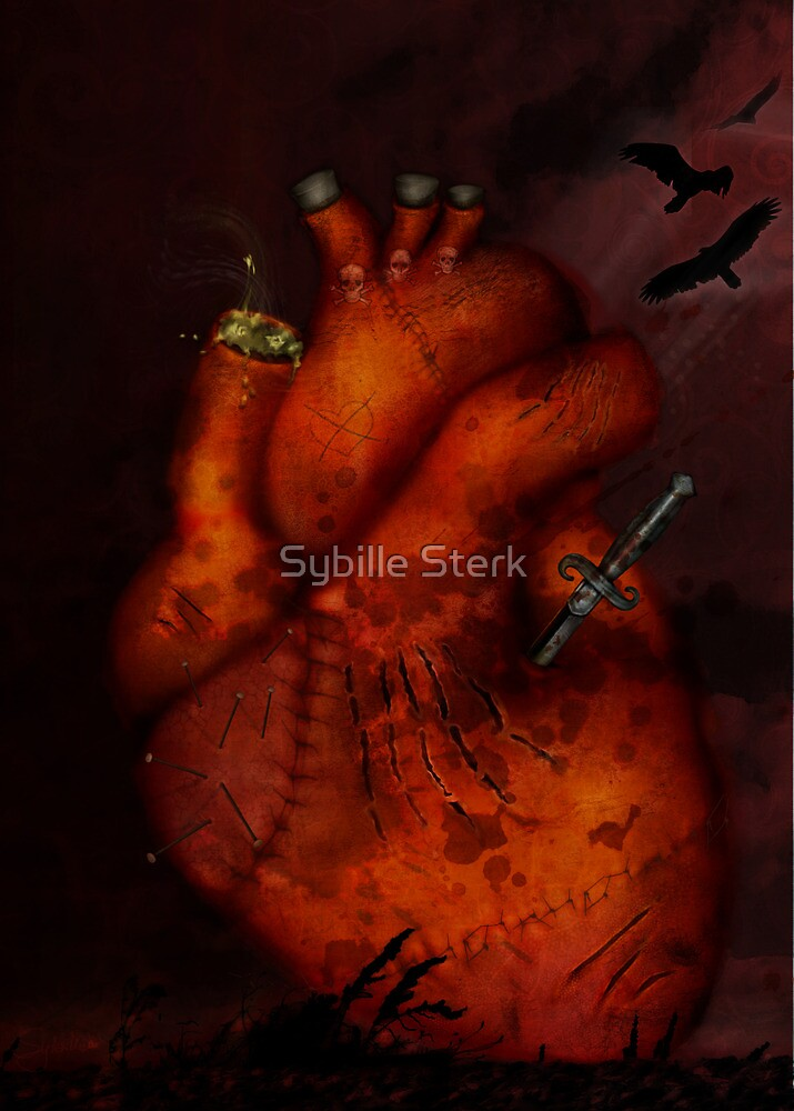 What Heart Are You? No 3: Tortured Heart by Sybille Sterk