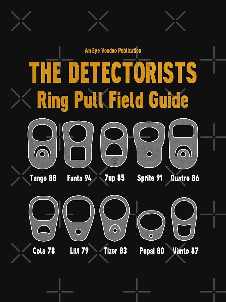 Detectorists Ring Pull Field Guide by Eye Voodoo by eyevoodoo