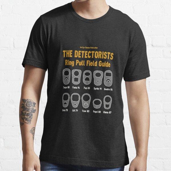 Detectorists Ring Pull Field Guide von Eye Voodoo Essential T-Shirt
