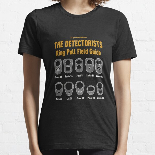 Detectorists Ring Pull Field Guide by Eye Voodoo Essential T-Shirt